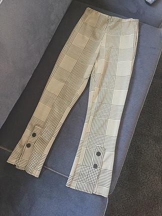 Zara kareli pantolon