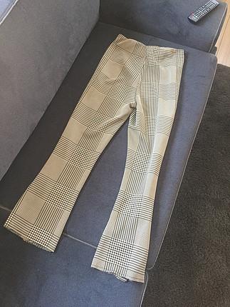 Zara Zara kareli pantolon