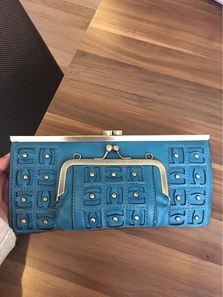 Orijinal jacquline cüzdan çanta