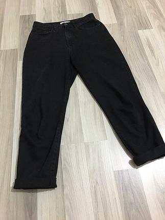Koton siyah mom jean yüksek bel boyu100 cm