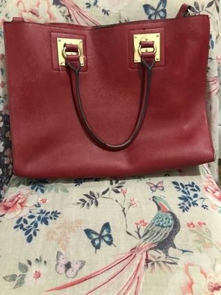 ipekyol kırmızı çanta