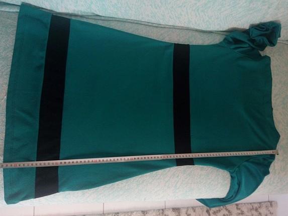 l Beden yeşil Renk Zara elbise L beden