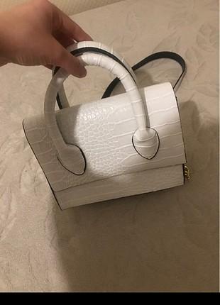 Beden beyaz Renk Beyaz çanta