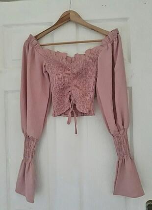 Büzgülü bluz
