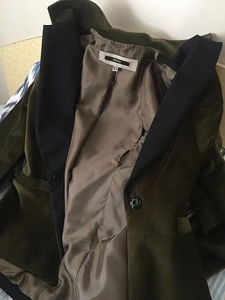 40 Beden yeşil Renk Ipekyol kadife ceket