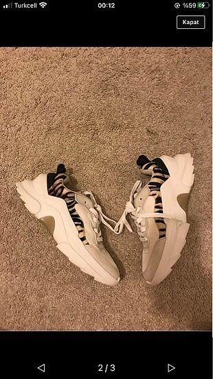 Sıfır zara ayakkabı
