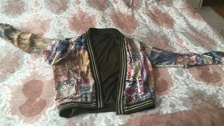 bomber ceket hic giyilmedi