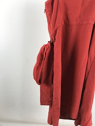 s Beden kırmızı Renk Askılı Elbise