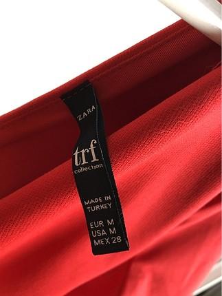 m Beden kırmızı Renk Günlük Elbise