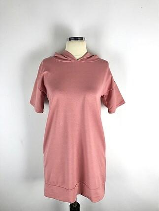 Kapişonlu Kısa Kol Sweatshirt