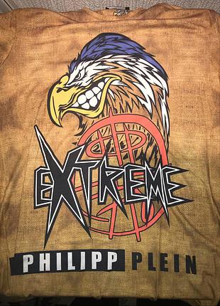 Philip Plein baskılı t-shirt