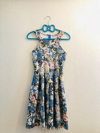 Mini yazlık elbise