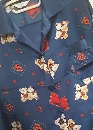 Saten Pijama Takimi