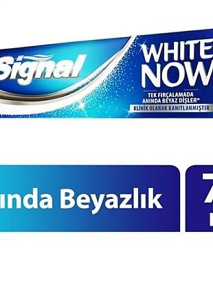 Signal white Now / Anında Beyazlık Diş Macunu