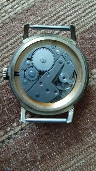 Vintage Nacar Kurmalı Saat