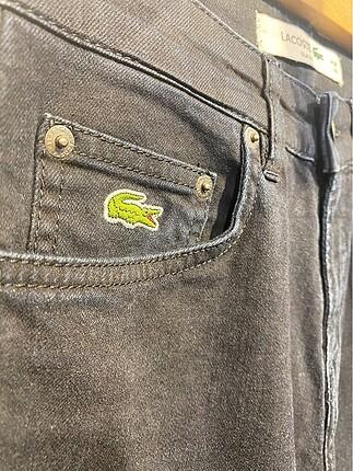34 Beden Erkek Jeans Orjinal ve Yeni Lacoste