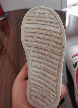 25 Beden beyaz Renk Spor ayakkabı