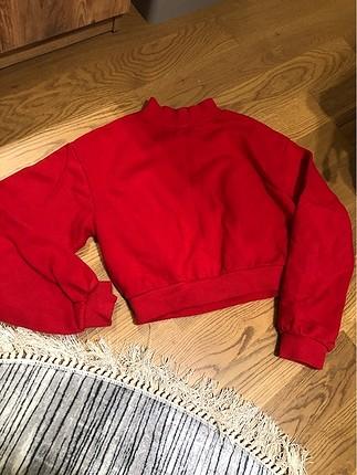 Bershka crop sweatshirt