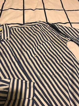Zara İnci Detaylı Gömlek