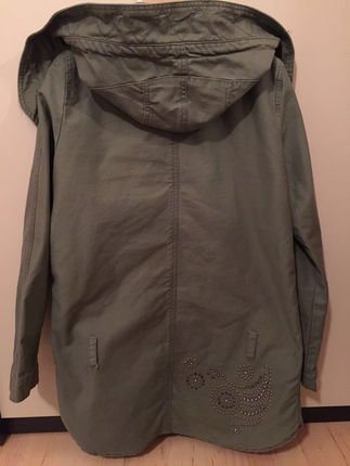 Guess yesil parka
