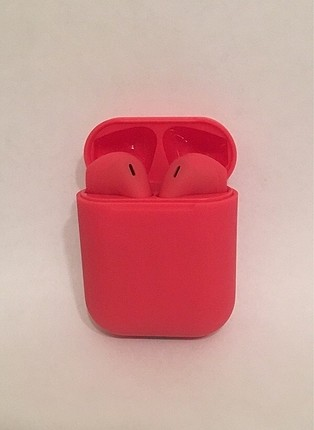 AirPods Kulaklık i12 Kırmızı (SIFIR)