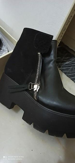 39 Beden siyah Renk Ayakkabı bot