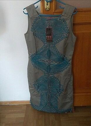 Günlük Klasik elbise