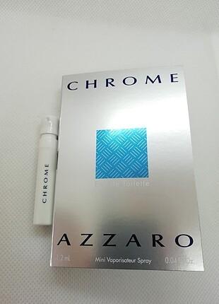 Azzaro Chrome edt 1,2 ml sample erkek