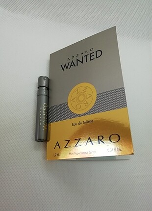 Azzaro wanted edt 1,2 ml sample erkek