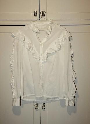 beyaz vintage gömlek