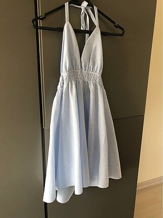 Yaz elbise. 34-36 beden. Xs .Orijinal İtalyan.