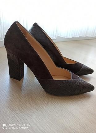 Kemal Tanca topuklu ayakkabi