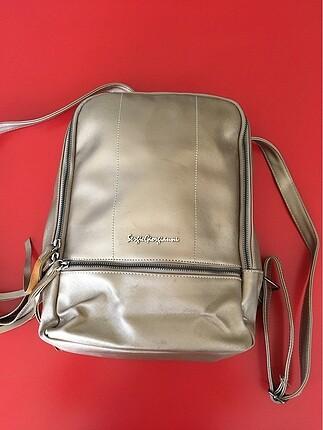 Sergio Giorgiani bej rengi sırt çantası