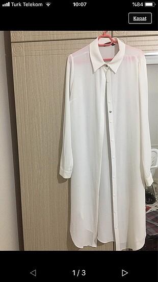 Beyaz tunik