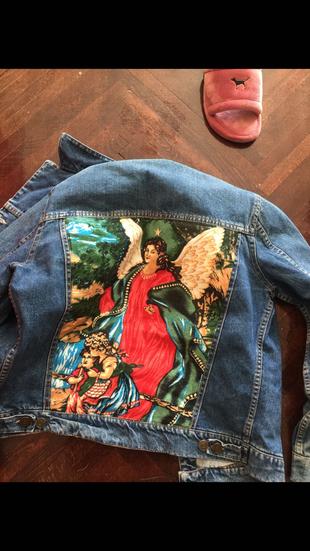 Özel yapım kot ceket