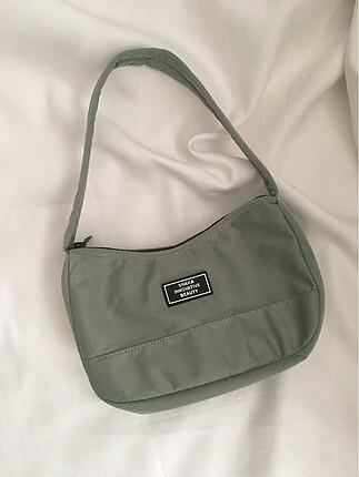 Su yeşili baget çanta