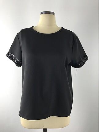 Pul kol detaylı bluz