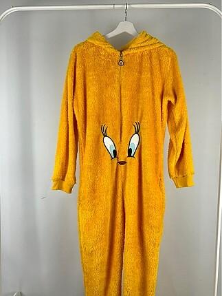 Peluş Tulum Pijama