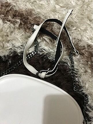 Addax Beyaz çanta
