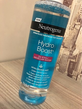 Neutrogena Hydro Boost Micellar makyaj temizleyicisi