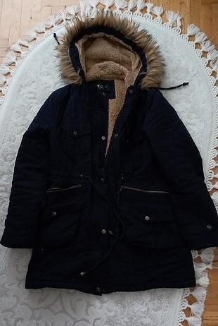Yeni ürün hiç kullanılmadı kışlık içi yünlü bayan mont