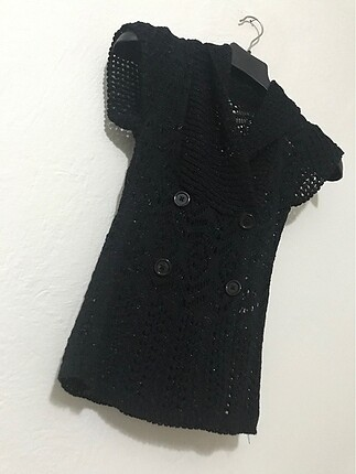 Vintage Love Delikli dokuma şık bluz (hırka)
