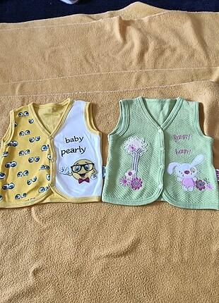 2 adet bebek yeleği