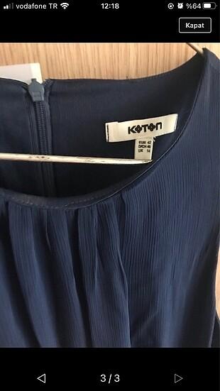 xl Beden Şifon astarlı 1 kez giyildi midi boy kusur leke yırtık yok
