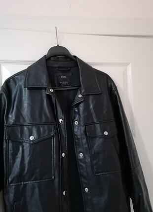 Bershka Deri ceket