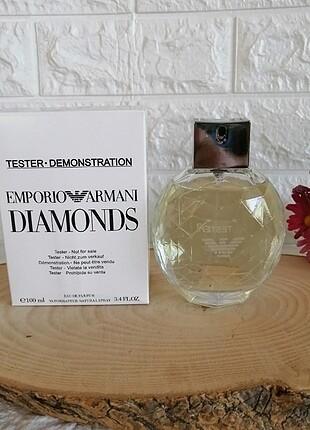 emporio Armani diamonds 100 ml Bayan tester Parfüm