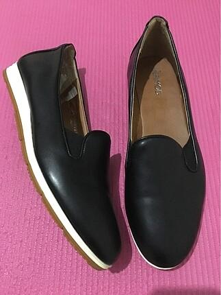 Derimod Deri Siyah Ayakkabı