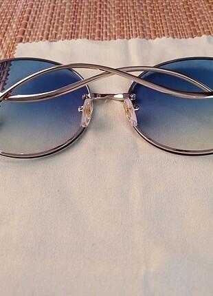 Beden mavi Renk Chanel güneş gözlügü