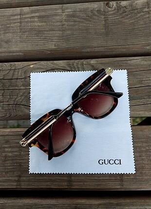 Beden kahve Renk Gucci güneş gözlüğü