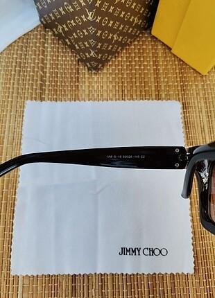 Beden kahverengi Renk Jimmy choo güneş gözlüğü